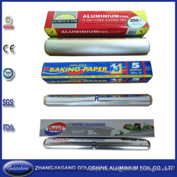 SGS Food Grade Einwegfolie Aluminium Rolle