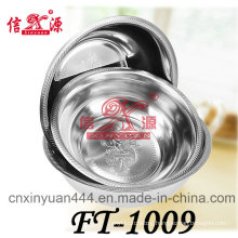 Ft-1009 Stainless Steel Oil Container with Cover