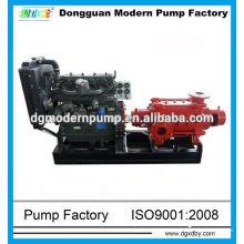 Mehrstufige Diesel-Wasserpumpen mit niedriger Drehzahl (1450 U / min)