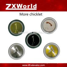 B13P3 Interruptor do botão de pressão & botão do elevador e botão de chamada
