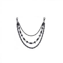 Bolso de hardware de metal de bronce de moda encadena la joyería de las cadenas