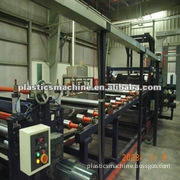 hot selling UnIAXIAL 2.5 METERS BIAXIAL 4 METERS geogrid production line