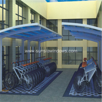 Aluminum Carport School Bicycle Shed