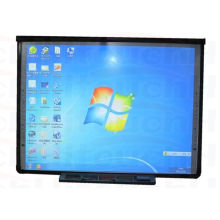 84'' Optical Imaging Finger Dual Touch Electronic Interactive Whiteboard Smart Whiteboard