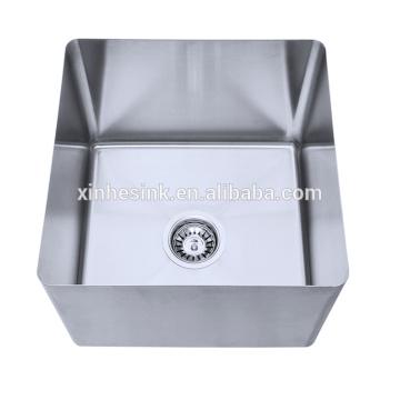 Hergestellt aus Edelstahl handgefertigte Schüssel Fach Waschbecken