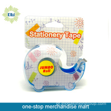 Conjunto de fita de papel de carta 1pc com dispensador de fita 1pc