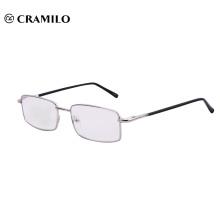 оптовые продажи модные женщины металлические очки для чтения с логотипом
