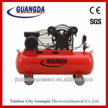 Belt Driven 2KW 90L 3HP Piston Air Compressor