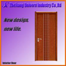 Puerta sólida de madera natural para el exterior Yf-S06