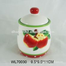 2016 Großhandel handbemalt Keramik Teebeutel Caddy, Keramik Teebehälter