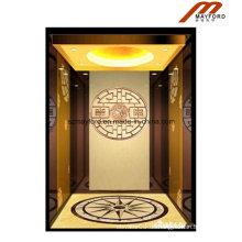 Rose Gold Home Aufzug mit Maschine Raumlos