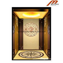 Rose Gold Home Elevator with Machine Roomless