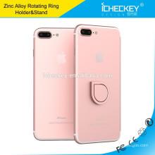 Icheckey neues Design Finger-Metall-Mobil Ringhalter 360-Grad-Universal-Autotelefonhalter