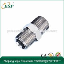zhejiang esp conector de tubo de latão niquelado