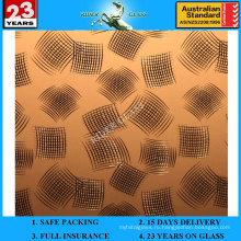 3-6мм АМ-85 декоративное Кисловочное Травленое матовое художественное Архитектурное стекло