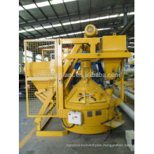planetary concrete mixer automatic discharging by hydraulic or penumatic