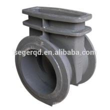 Pièces de pompe en fonte Corps de valve à double vis
