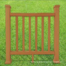 Umweltfreundlicher WPC-Zaun und Geländer für Garten 68 * 25