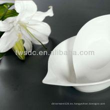 VAJILLA de porcelana para alquiler de bodas