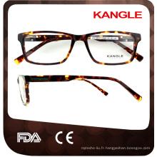 Prix usine les plus récents jeunes cadres de lunettes avec des certificats de la CE