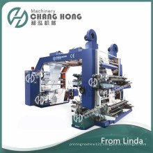 High Speed Four Color Non Woven Printing Machine (CE)