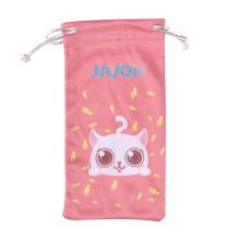 Custom Heat Transfer Microfiber Mobilephone Bag