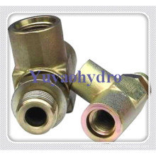Tee Forged Fittings with Female Femal Male Adjustable Connector