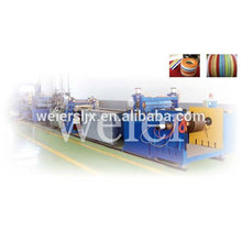 soft PVC T -edge banding manufacture machine line