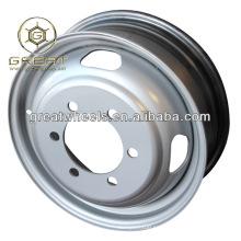Nueva utilidad 16x5.5 ruedas de acero chino para el borde del camión ligero