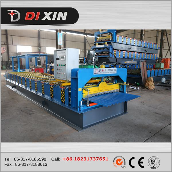 corrugated iron roofing machine