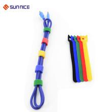 Double Sided Hook Loop Kabelbinder Kabel für Cord Organizer