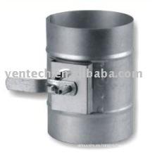 condición amortiguador conducto regulador aire difusor de aire