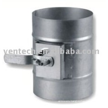 air ventilation round duct damper