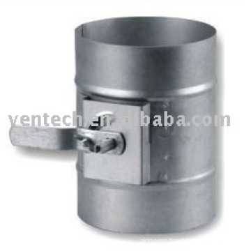 air vent condition round duct damper