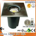 Acero inoxidable empotrado IP67 luz de tierra LED