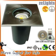 Aço Inoxidável Recessed IP67 LED Ground Light