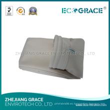 Bolsa de filtro para colectores de polvo a prueba de agua y aceite