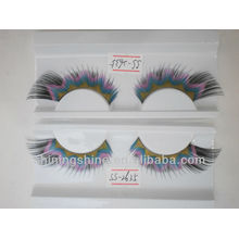 2015 hot design cheap three color false silk fashion single eyelashes