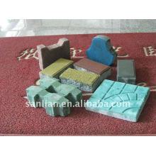 Machine de fabrication de briques de verrouillage QFT10-15