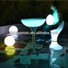 color changing CE factory direct sale rechargeable wifi control led lighting bar table