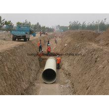 Стеклопластиковые трубы для воды или Chemcail транспортировать