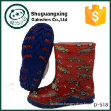 half price children high heel kid boy nude rain boots D-518