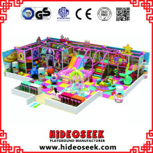 Candy Castle Style Indoor Amusement Park Equipment with Balls