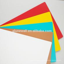 Panel compuesto de aluminio de la impresión UV de la publicidad ACP