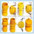 Camlock Nylon tipo de acoplamento DP, encaixes de cam lock, acoplamento rápido China fabricação