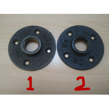 Iron decorative pipe flange