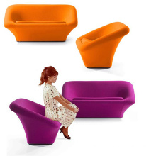 Lounge Creative Fiberglass Nest 2 places assise