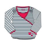 Custom Made Boutique Childrens Clothing Long Sleeve Stripe Girls Shirt