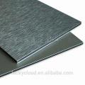 revestimento de parede ACP Brush Decoration material Painel composto de alumínio