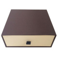 Color standing box with window gift paper box luxury gift box packaging